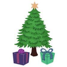 cheery lynn designs dies classic christmas tree b912