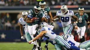 philadelphia eagles dallas cowboys fight for nfc east live on