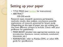 cover letter format apa style Cover Letter Example Apa Research Paper Outline Format Cover Letter For AcademicTips org