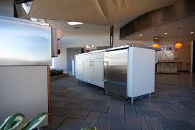 woodways outdoor kitchen line stainless steel appliances teak