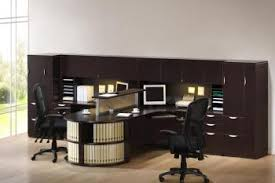T Shaped Office Desk Furniture Person T Shaped Executive Desk With Hutch And Bookcases