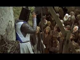 monty python and the holy grail black knight scene video