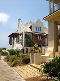 a walking tour of rosemary beach driven by decor