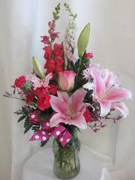 stargazer bouquet pink abigail stargazer flowers florist delivery in houston