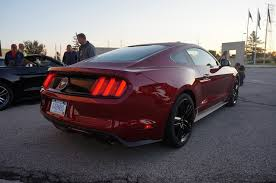2015 mustang ruby 2015 mustangs at the flat rock assembly plant tour 2015 mustang