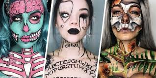 21 best halloween makeup ideas instagram makeup artists