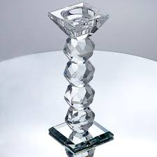 modern crystal ring holder images Egyptian cut crystal stands jpg