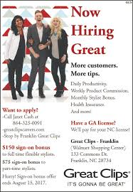 great clips franklin nc