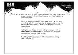typography class 3