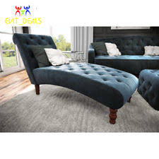 Blue Chaise Lounge Chaise Lounge Ebay