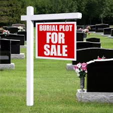 buying and selling cemetery plots