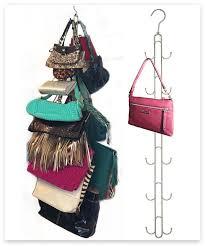 Closet Hanger Organizers - best 25 purse organizer closet ideas on pinterest organize