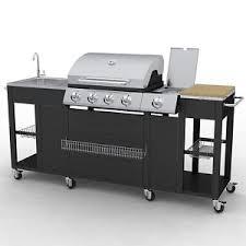 aussenküche edelstahl edelstahl gasgrill grill grillwagen bbq aussenküche gartenküche