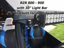 roll bar mount led light horizontal bar mount cl for roll cage