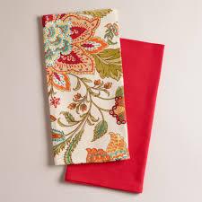 kavita floral kitchen towels set 2 online interior design