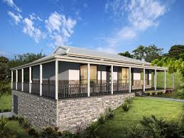 attractive country style home designs qld castle on homestead