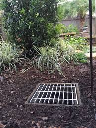 houston tx landscape retaining walls houston tx drainage catch basin