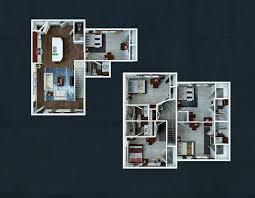 five bedroom floor plans five bedroom floorplans the avenue at lubbock