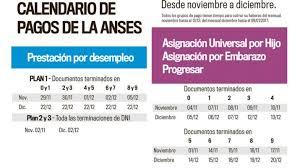 www anses calendario pago a jubilados pensionados 2016 la anses dio a conocer el cronograma de pagos de noviembre y