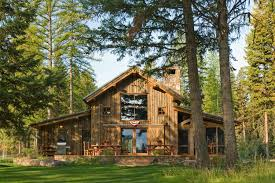 Barn Style Home Plans Montana Mountain Retreat Heritage Restorations