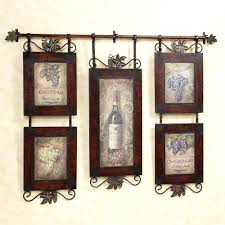 ideas for decorating kitchen walls wall ideas tuscan metal wall tuscan fleur de lis hanging