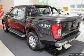 nissan np300 navara nissan np300 navara launched in malaysia u2013 single cab double cab