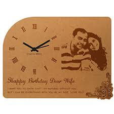 personalized clocks with pictures personalized clocks buy personalized wall clock in india giftalove