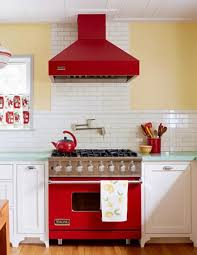 25 modern ideas to make kitchen design dynamic and unique with red