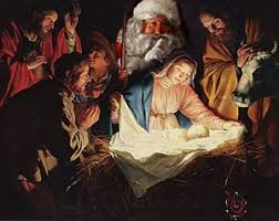 santa and baby jesus picture christmas apathy news