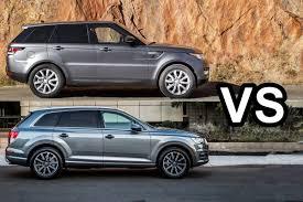 audi jeep 2017 2017 audi q7 vs 2016 range rover sport design youtube