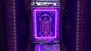 lord venkateswara photo frames with lights and music balaji frame youtube