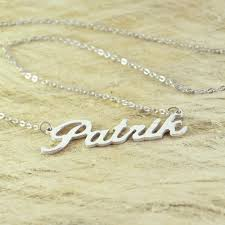 personalized name personalized name necklace free shipping onepunz