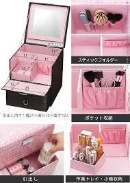 Makeup Box fujix rakuten global market crocodile style makeup box