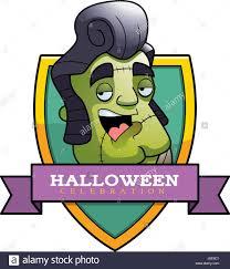 Halloween Graphic by A Cartoon Frankenstein Monster Stock Photos U0026 A Cartoon