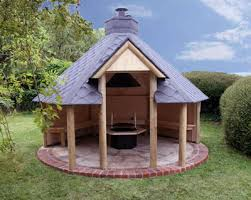 outdoor open shelter with barbeque glamping pinterest bbq