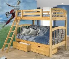 Wooden Bunk Bed With Futon Platform Bedsolid Wood Bunk Bedssolid Wood Bunk Bedsbunk Bedssolid
