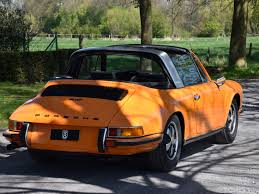 orange porsche 911 convertible 1971 porsche 911 2 2t soft window targa turn8 cars