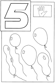 coloring pages for toddlers 5 coloring page