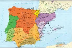 Map Of Southern Spain European Roots Moraga Family History