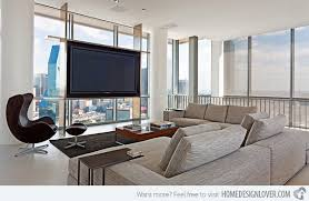 where to place tv in living room with fireplace 15 modern day living room tv ideas home design lover
