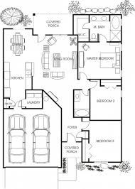 Garage House Floor Plans Fancy Idea Small House Floor Plans With Garage 13 Adu Plan 2