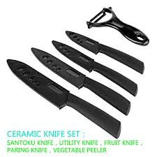 ceramic knife set ankway 9 piece durable rust proof lightweight