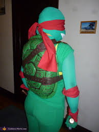ninja turtle raphael halloween costume photo 2 5