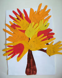 make a thanksgiving tree