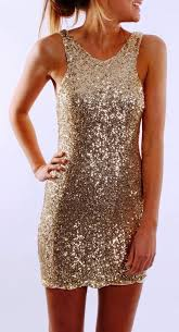 new years glitter dresses sleeveless sparkly gold cocktail dress new years fashion