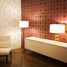 Temporary Wallpaper Tiles by Temporary Wallpaper Diamond Metallic Gold Violet U2013 Dormify