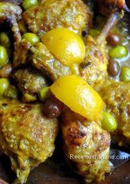 cuisine marocaine poulet aux olives poulet aux olives et au citron confit à la marocaine recettes by