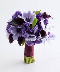 purple wedding flowers purple wedding flowers real simple