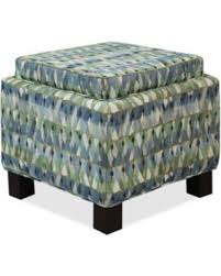Ottoman Pillows Bargains On Kylee Fabric Accent Storage Ottoman With Pillows