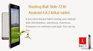how to root android 4 4 2 how to root iball slide 7236 android 4 4 2 kitkat tablet easily in